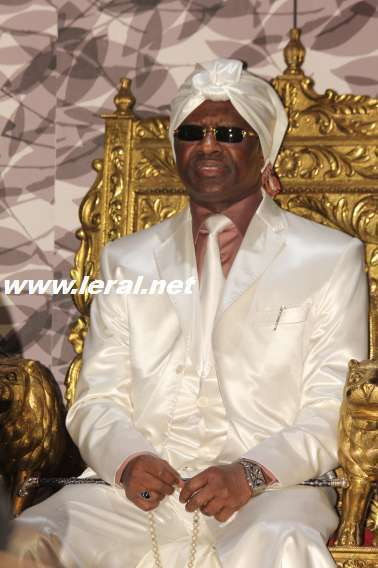 Serigne Modou Kara lors du lancement de l'orchestre symphonique du Sénégal