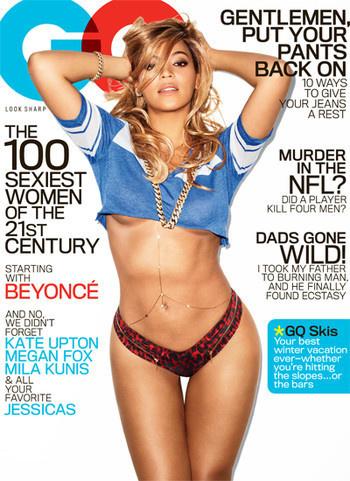 PHOTO Beyoncé presque nue en couverture de GQ