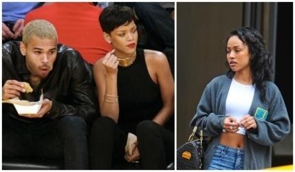 Chris Brown toujours collé à Karrueche, Rihanna voit rouge !