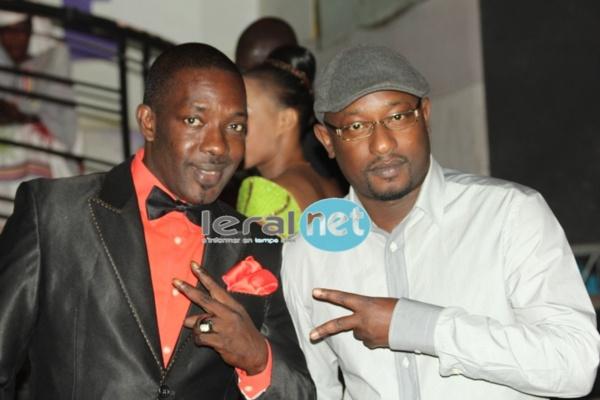 Mbaye Dièye Faye en compagnie de l'animateur Sidate Thioune