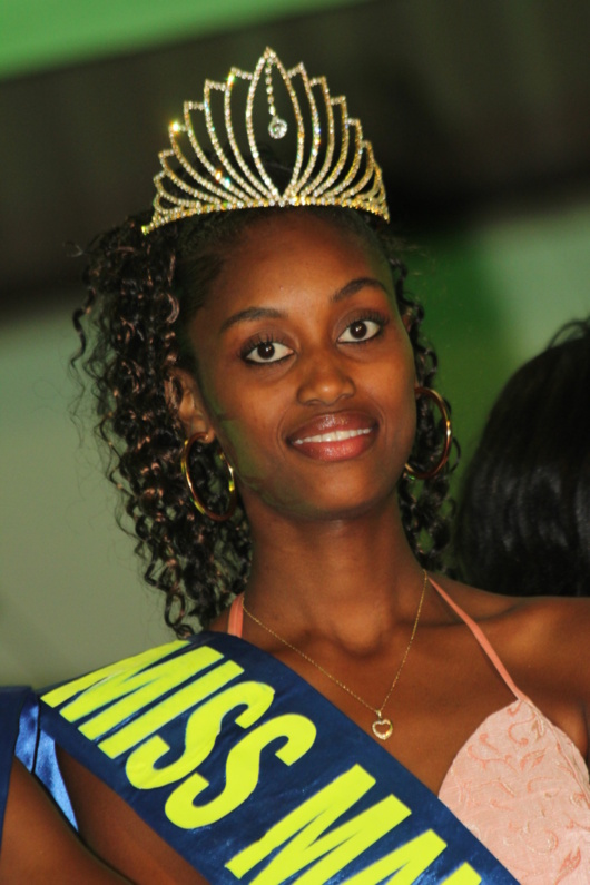 Miss Manjak 2013, Samantha LOPY a été élue lors de la 8ème Edition