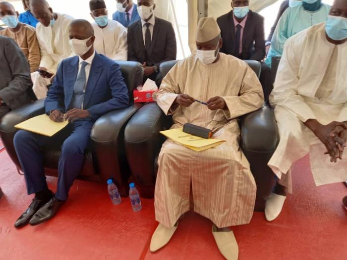 Passation de service: Antoine Félix Diome encense Aly Ngouille Ndiaye et promet la continuité