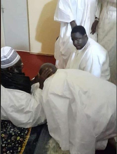 Idrissa Seck à Touba pour des prières : voici quelques images de sa visite chez Serigne Mountakha Bassirou