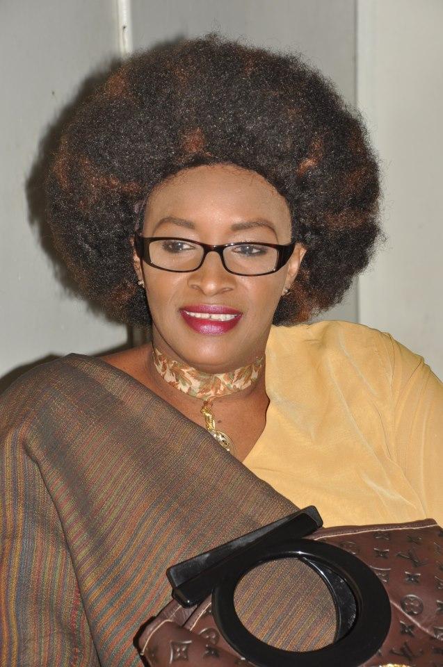 La maman du mannequin Kadia Sall très élégante