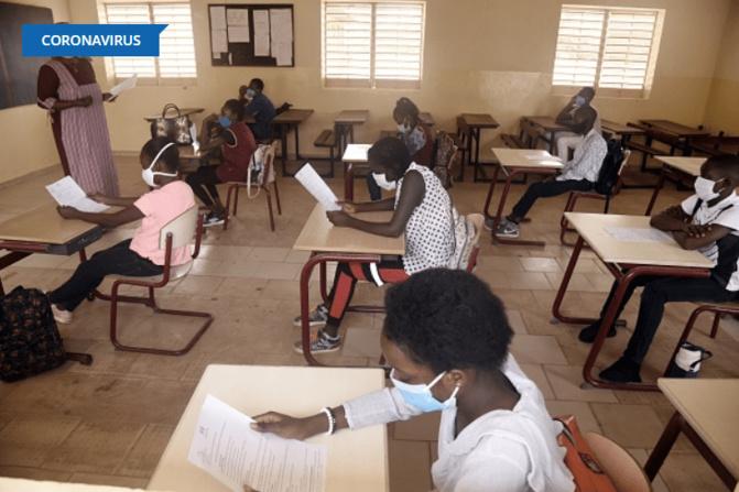 Ouverture des classes: La distanciation physique, une préoccupation pour l'administration