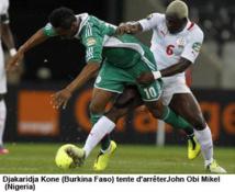 CAN: le Burkina arrache le nul, 1-1, devant le Nigeria