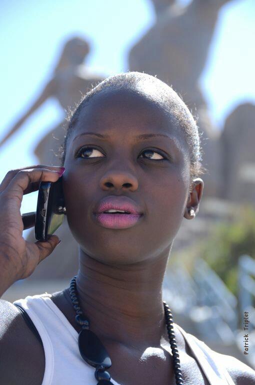 Aida Ndao Miss Africités s'est rasée la tête.