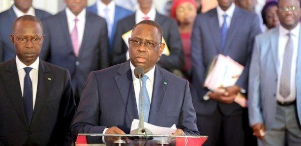SEN de l'Apr: Macky Sall donne aux ministres écartés les raisons de leur...