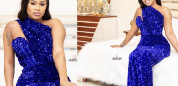 Hanches bien taillées, robe de gala: Marichou, une vraie Jongoma qui brille de mille feux
