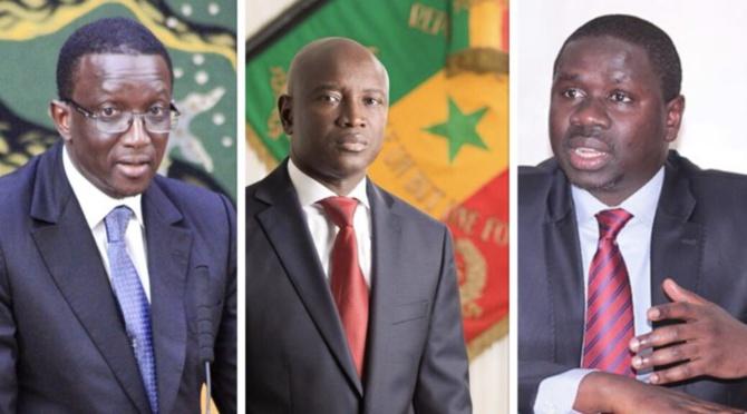 Youm, Aly Ngouille et Amadou Ba font un serment de fidélité