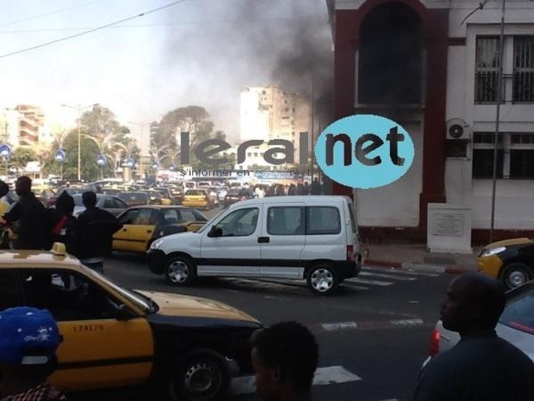 [Photo+Audio] Incendie au ministère des Affaires étrangères