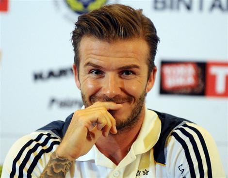 David Beckham devrait signer au PSG pour 6 mois