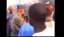 [Vidéo] Les populations de Mbao déversent leur colère sur la route nationale n°1