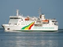 Et c'est le 1000e voyage du navire Aline Sitoé Diatta