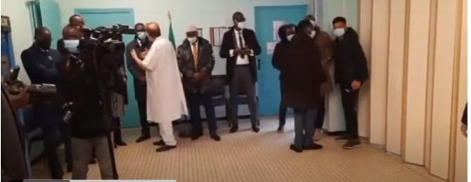 France: Revivez en images la cérémonie de levée du corps de Pape Bouba Diop