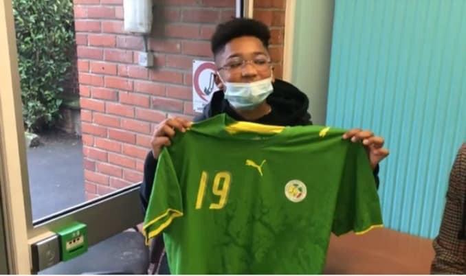 """Aron Diop, 14 ans, fils aîné de Pape Bouba Diop: """"Je suis fier de mon Papa..."""""""