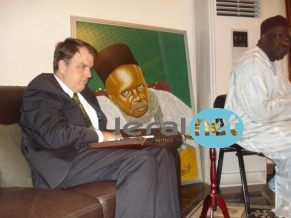 Photos: les images de la visite de l'ambassadeur des Etats-Unies , Lewis Lukens à Tivaouane