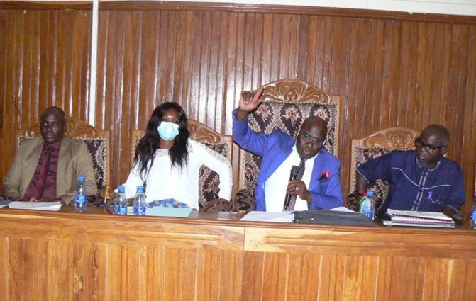 Tamba: Le conseil départemental vote son budget 2021 et l'oriente vers l'éducation, la santé et l'Action sociale