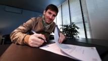 Barcelone: Messi prolonge de deux ans