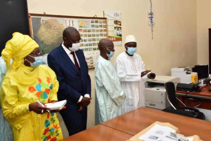 Saint-Louis: Modernisation des CADL par le Ministre M. Oumar Guèye