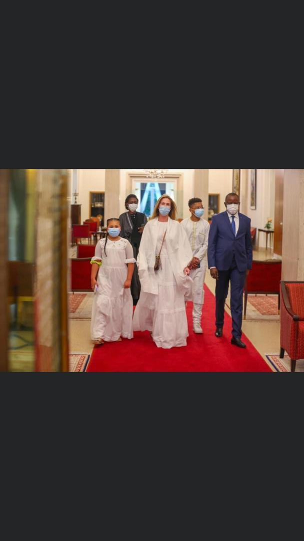 Après l'hommage national rendu à Pape Bouba Diop: Le Président Macky Sall a reçu la famille de l'illustre disparu