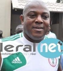 Nigeria : le sélectionneur Stephen Keshi retire sa démission