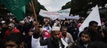 15 000 manifestants à Tunis pour maintenir le parti Ennahda au pouvoir