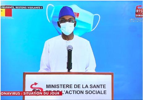 Covid-19: Le Sénégal a enregistré 98 nouvelles infections, 6 nouveaux décès et 30 cas graves en réanimation