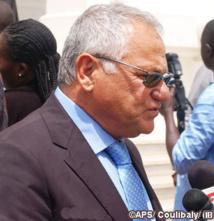 Casamance: le cortège de Aly Haidar « bloqué » par un feu de brousse