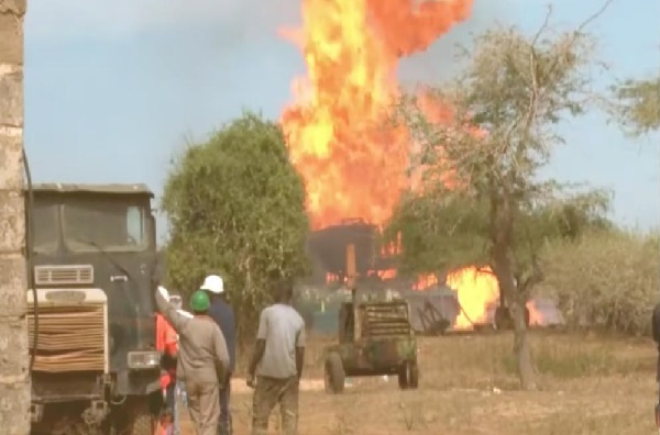 Incendie de Ngadiaga : 1,7 et 1,8 milliard de FCfa à la société américaine Haliburton, pour éteindre le puits de gaz