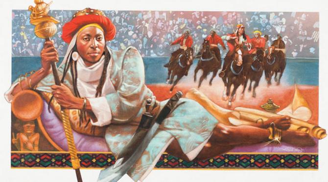 Amina de Zaria, reine guerrière Haoussa