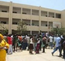 Mbacké: un véhicule de police provoque un accident devant le lycée Cheikh Ahmadou Bamba