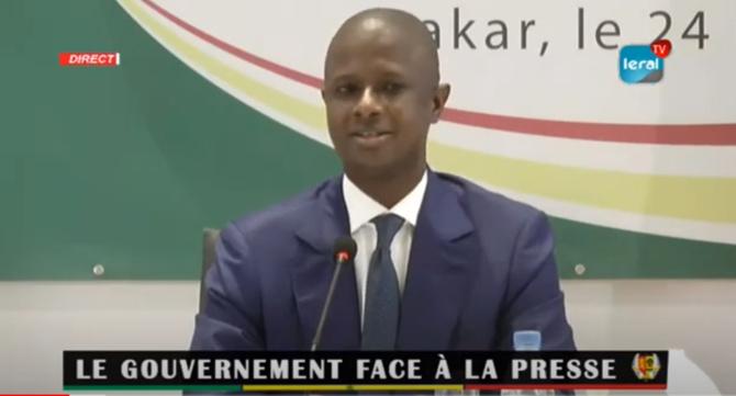 Antoine Diome sur les manifestations d'hier: « Il n'y a pas eu de difficulté par rapport à l'application de cette mesure du couvre-feu »