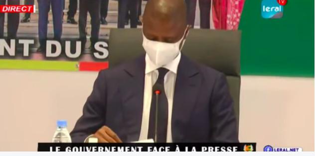 Interdiction de rassemblements, port obligatoire du masque...De nouvelles meures seront prises(Ministre)