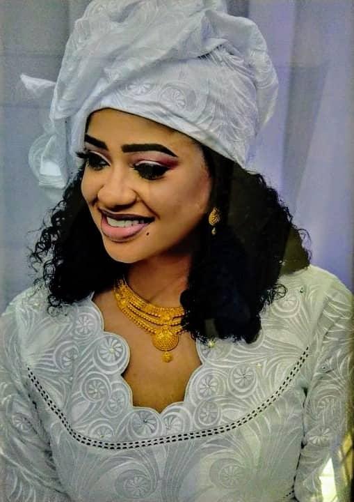 Photo de Salma Niasse, la fille du Dr Ahmed Khalifa Niasse