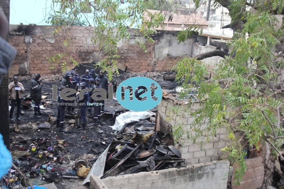 [Photos exclusives] Violent incendie à la Médina: Les flammes ont tout emporté
