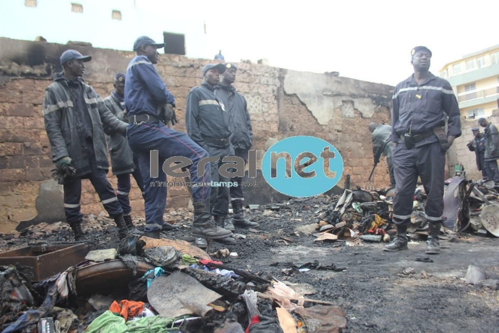 [Photos exclusives] Violent incendie à la Médina: Les flammes ont tout emp