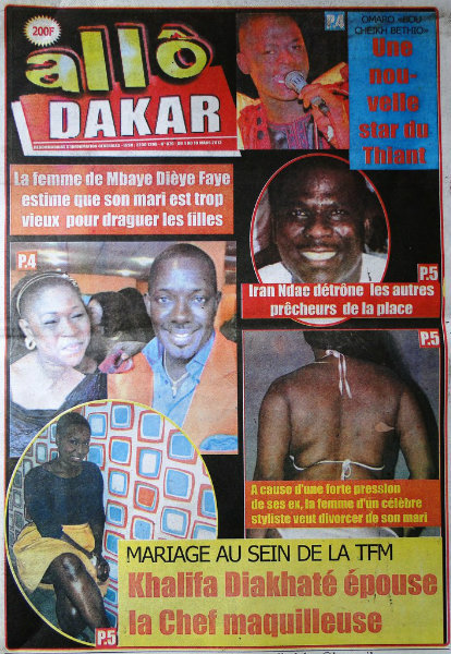 A la une du journal Allo Dakar du lundi 04 mars 2013