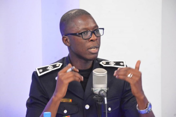 """Le commissaire Mouhamed Guèye: """"La police est là pour protéger les populations"""""""
