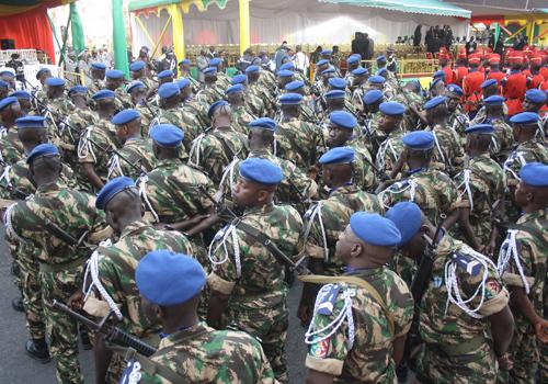 Le 2e contingent  sénégalais en partance au Mali invité à représenter dignement leur pays