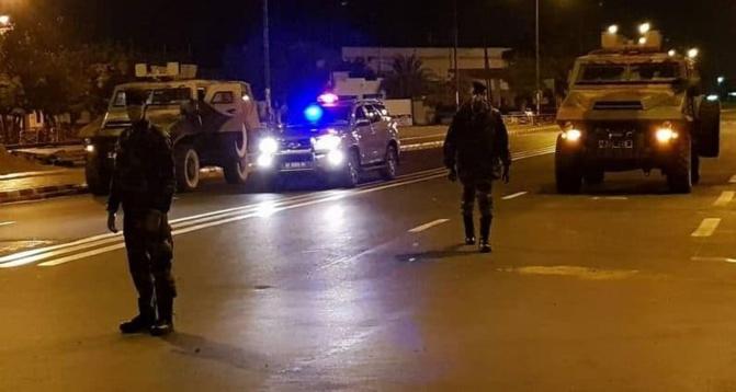 Bilan du couvre-feu dans la banlieue: 154 personnes interpellées pour diverses infractions