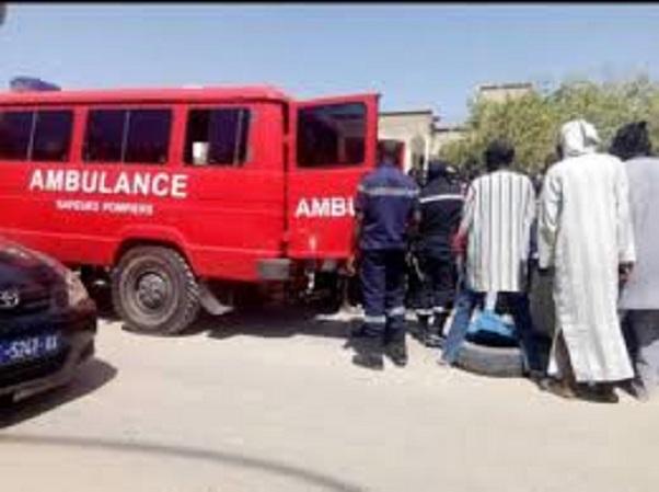 Grave accident pour excès de vitesse: Un choc violent fait deux blessés à Louga
