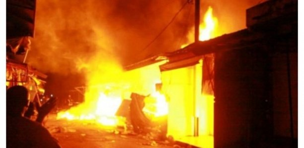 Incendie à Gassane: Plusieurs cases réduites en cendres