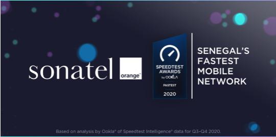 Awards Speedtest de OOKLA/ Pour une expérience client unique: Le réseau Orange confirmé meilleur réseau mobile