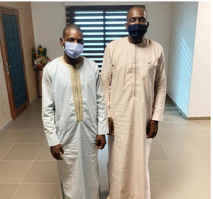 Lutte contre le coronavirus: Le Dg de L'Artp Abdoul Ly reçoit La Cojer De Matam