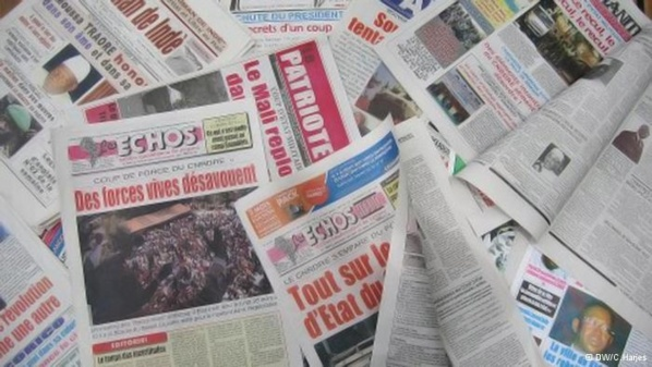 Les journalistes maliens en grève