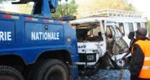 [Âme sensible s'abstenir] Les terribles images du violent accident de ce matin sur la route Kaolack-Diourbel