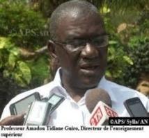 Le Recteur de la nouvelle université du Sine-Saloum entame une visite de terrains.