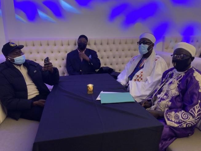 Mo Gates vient d'offrir 75 millions FCfa aux 5 dahiras Mouride, Niassène, Layenne,Tidjane et Omarien des USA