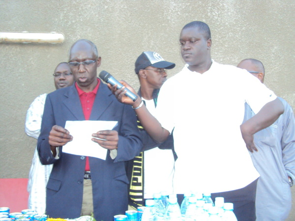 DG Abdoulaye Dieng et Maxime Sène